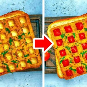 35 Easy And Delicious Recipes You Can Cook In a Waffle Maker And Microwave!