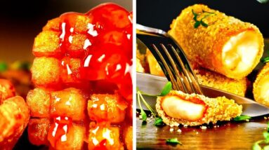 Amazing Food Frying Ideas || Mouth-Watering Treats For Special Occasions!