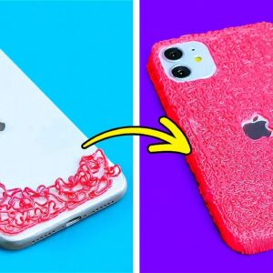 Amazing Crafts You Can Make With 3D Pen || Easy Ways to Upgrade Your Phone Case by 5-Minute Recipes!