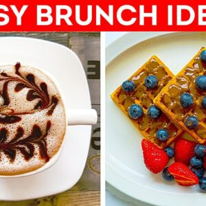Quick & Tasty Brunch Ideas || Easy Recipes You Can Cook In 5 Minutes!