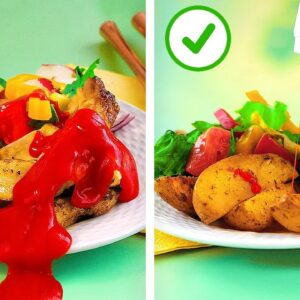 25 Smart Fast Food Hacks For Real Foodies || Unusual Tricks With Ketchup You Need to Try!