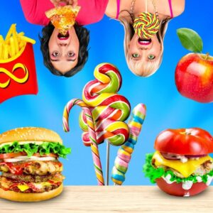 Fast Food VS Healthy Food || Mouth-Watering Recipes For The Whole Family!