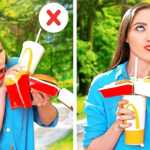 Genius FOOD HACKS For Clumsy People || Kitchen Tricks You'll Love!