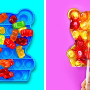 Sweet Hacks With POP IT You'll Want to Try || Crazy Food Hacks For a Sweet Life!