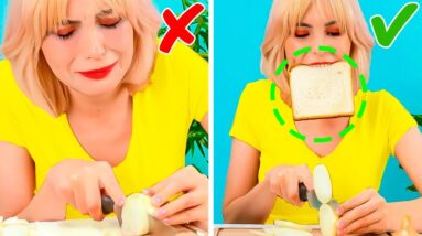 25 Simple Cooking Hacks to Make Your Life Easier || 5-Minute Recipes For Busy People!