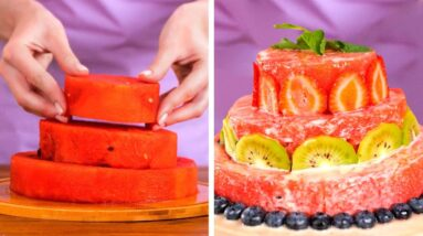 Low-Calorie Dessert Recipes You Would Like to Try || Yummy Ideas With Fruits And Berries